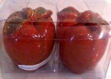 Salt And Pepper Set Ceramic Apple New in package