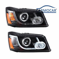 New Led DRL Projector Headlights For 01-07 Toyota Highlander Land Rover Type
