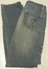 a.n.a A New Approach Women's Denim Jeans Distressed Embellished Size 4