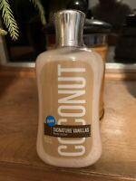 Bath & Body Works Signature Vanillas Coconut Body Lotion New LARGE SIZE RARE