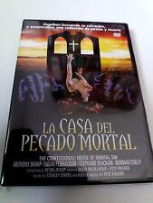 "DVD ""The House of PECADO MORTAL"" Como Nuevo Pete Walker santhony Sharp Susan Penh"