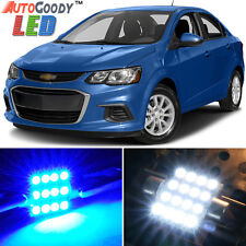 8 x Premium Blue LED Lights Interior Package for Chevy Sonic 2012-2017 + Tool