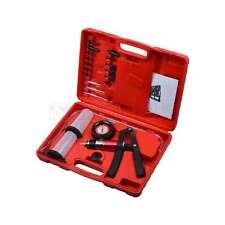 21PC Hand Held Vacuum Pressure Pump Tester Brake Fluid Bleeder Bleeding Kit Set