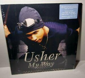 USHER * My Way * Clear Blue Lp Vinyl Record * 1997-2017 *