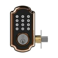 TURBOLOCK TL117 Smart Door Lock Digital Deadbolt + Keypad Voice Prompt App eKeys