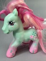 My Little Pony MLP G3 Holiday Christmas Winter Minty Snowman Snowflakes  2007