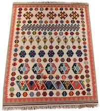 FARS Kelim 215 x 160 cm ORIGINAL ghashghai nomades Kilim persan 1551