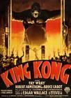 "KING KONG Vintage movie poster fay wray #2 CANVAS ART PRINT 8"" X 12"""