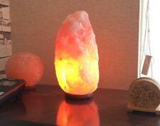 De l'Himalaya Naturel Cristal Rose Rock Salt Hand Craft Lampe 2-4 kg 17-21 cm DECOR