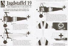 Blue Rider 1/48 triplan de Fokker Dr.I Jasta 19 # 512