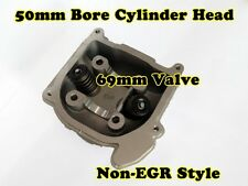100cc CYLINDER HEAD WITH 69mm VALVES INSTALLED FOR GY6 / QMB139 MOTORS
