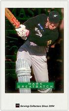 1996 NZ High Velocity Cricket Trading Card Master Blaster #6: Mark Greatbatch