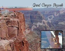 Arizona - GRAND CANYON SKYWALK - Travel Souvenir Flexible Fridge Magnet