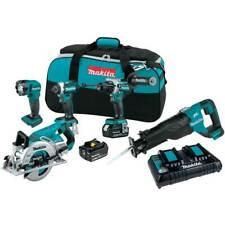 Makita Xt507pt 18v Lxt Li Ion Brushless Cordless 5 Tool Combo 50 Ah Kit