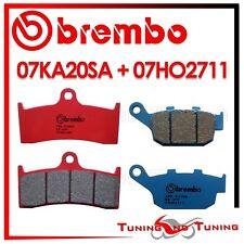 Pastiglie Freno BREMBO Ant. SA + Post. CC BUELL S3 THUNDERBOLT 1200 1998 1999 99