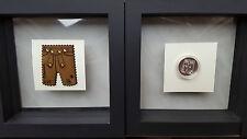Swarovski, Lim-Ed Vip Lounge Set, Lederhose Stamp with crystals and Silver Coine