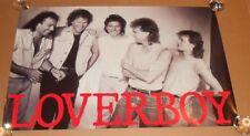 Loverboy Promo 1985 Original Poster 24x36