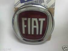 FIAT GRANDE PUNTO PANDA REAR BOOT TAILGATE BADGE RED