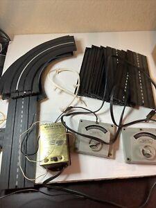 aurora scale slot cars pre 1970 Model Motoring Set, track, Motor Pack (see Notes