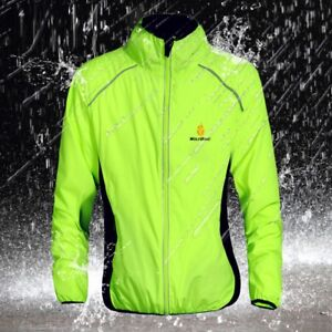 Cycling Jackets Sports Coat Waterproof Breathable Reflective Riding Clothing