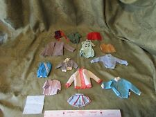Mattel Barbie Assorted Lot 2 Clothes Vintage Thrift Store Sweaters Poppin' Tags