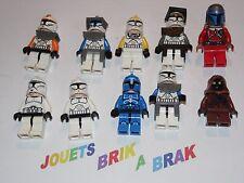 LEGO Minifigs figurine personnage Star Wars clone trooper choose model - KG 73