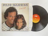 Julio Iglesias De Nina a Mujer Vinyl Album Record LP
