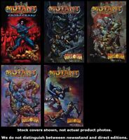 Mutant Chronicles + Sourcebook 1 1 2 3 4 Complete Set Run Lot 1-4 VF/NM
