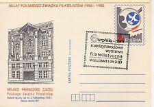 Polonia Entero postal con matasellos conmemorativo año 1980 (DD-8)