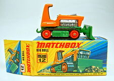Matchbox Superfast Nr.12C Big Bull orange & grünmetallic top in Box