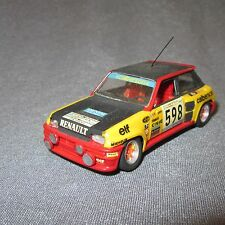 550D Humbrol 80173 Renault 5 Turbo Rally # 598 1:43