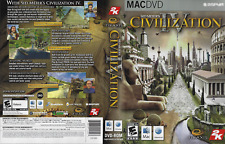 Sid Meier's Civilization IV (Apple, Mac DVD-ROM 2006) with Fold Out Chart