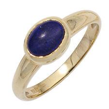 Echtschmuck-Ringe mit Lapis Lazuli-Hauptstein für Damen