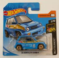 2020 Hotwheels 1985 85 Honda Civic City Turbo II 2 Mint! MOC!