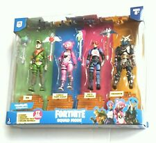 Fornite Squad Mode 4 Figures Pack Collection Wall by Jazwares Building Materials