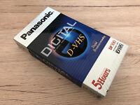 Unbenutzt 1 DVHS Cassette Panasonic DF-300 in OVP 12 Monate Garantie*