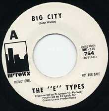 "E-TYPES ""BIG CITY"" ORIG US 1966 SAN JOSE GARAGE M-"