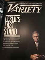 Variety Magazine May 29 2018 Leslie Moonves Mutiny CBS Redstone Harvey Weinstein