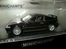 1:43 Minichamps Honda CR-X Coupe 1989 black/schwarz Nr. 430161570 in OVP