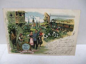 Ak Litho Bamberg Reserve hat Ruhe Parole Heimath 1903