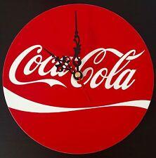 Orologio da parete CocaCola in plexiglass riproduzione artigianale