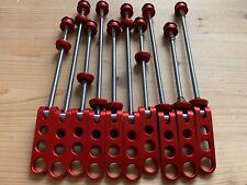 1 Paar Ringle Ti-Stix Re-Issue Rot/Red - kult/retro/FAT/Yeti/Manitou