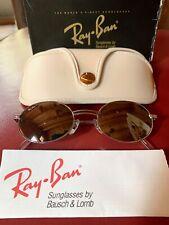 Vintage B&L Ray Ban Rituals Amulet Silver w/pleasure Sunglasses W2545 NWT