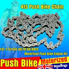80cc Motorised Motorized Bicycle Push Bike 2 Stroke Motor Engine Kit Drive Chain