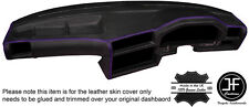 PURPLE STITCH DASHBOARD LEATHER SKIN COVER FOR BMW 3 SERIES E30 81-92 STYLE 2