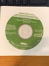 Dell Windows XP Pro Sp2  Reinstall CD