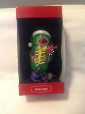 Night light by St. Nicholas Square Glass Monkey Night Light NEW in box