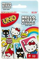 Mattel UNO Card Game HELLO KITTY & FRIENDS Playing Cards FNC40 NEW SEALED