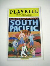 South Pacific Playbill 2009 Lincoln Center Theater Ticket Kelli O'Hara Romain