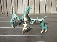 Star Wars Geonosis Battle Monster Acklay Beast Obi Wan Kenobi Figure Set Toy